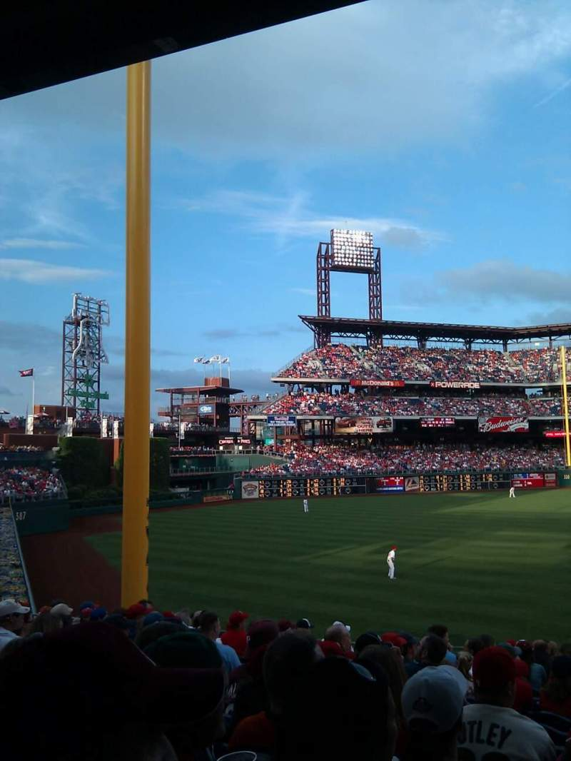 Seating view for Citizens Bank Park Section 139 Row 35 Seat 14
