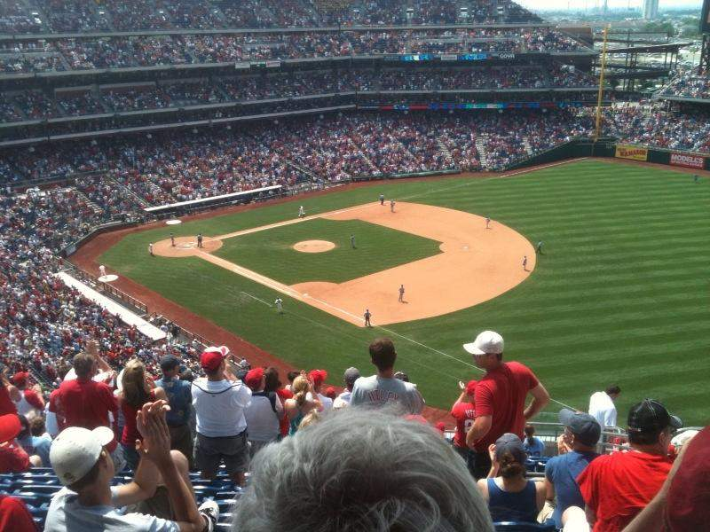 Seating view for Citizens Bank Park Section 139 Row 35 Seat 13