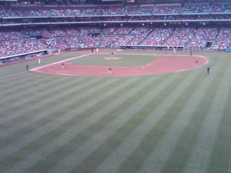 Seating view for Citizens Bank Park Section 203 Row 5 Seat 4