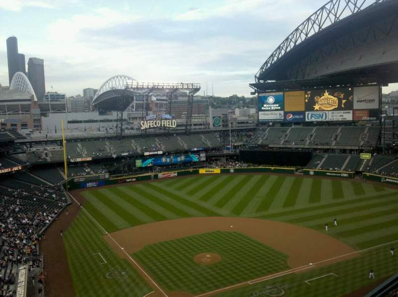 Seating view for Safeco Field Section 327