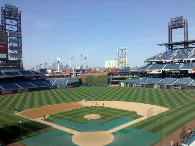 Seating view for Citizens Bank Park Section 321 Row 1