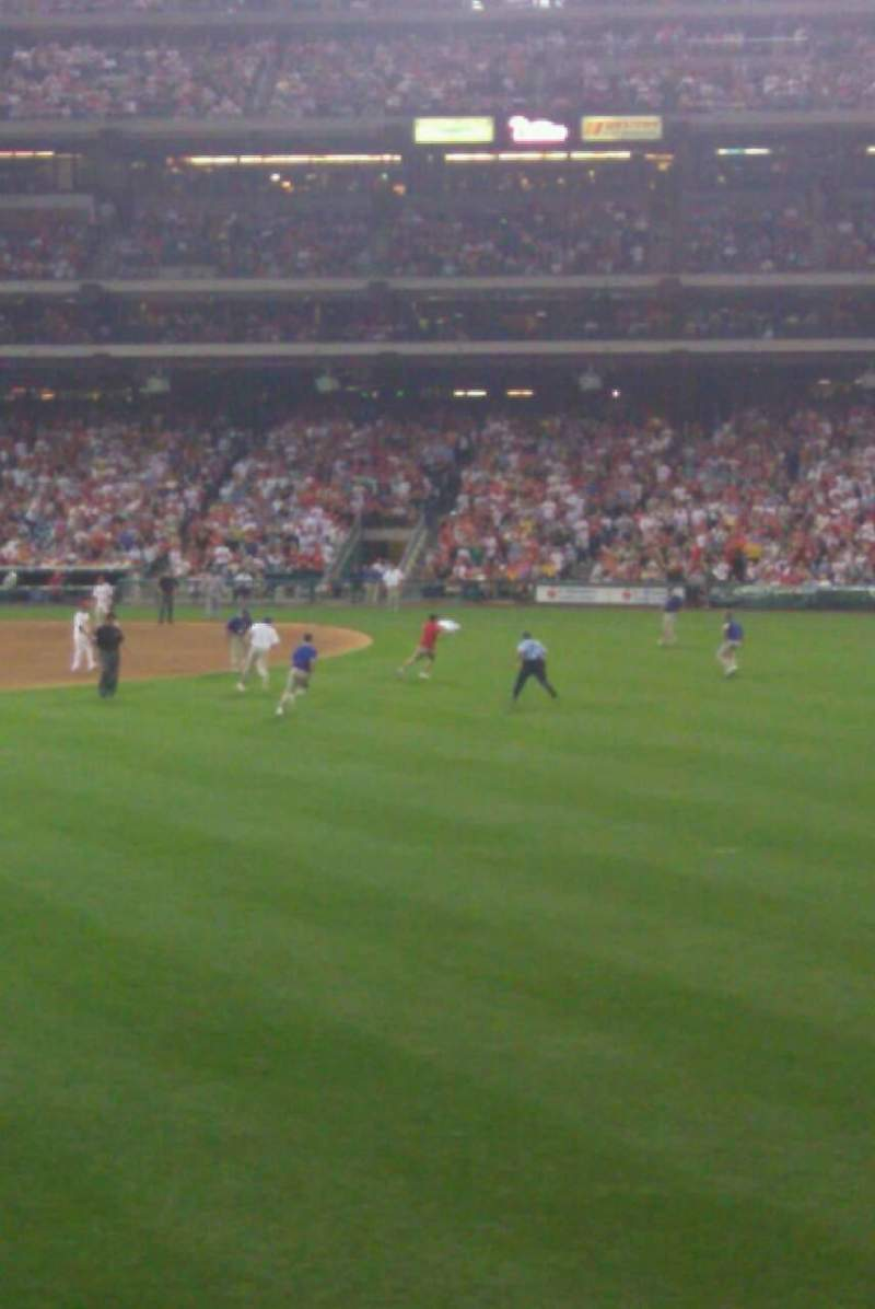 Seating view for Citizens Bank Park Section 102 Row 3 Seat 10