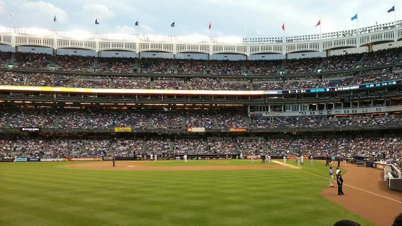 Seating view for Yankee Stadium Section 133 Row 14 Seat 14