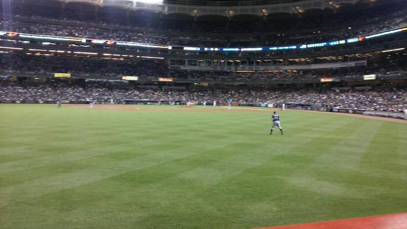 Seating view for Yankee Stadium Section 136 Row 11 Seat 14
