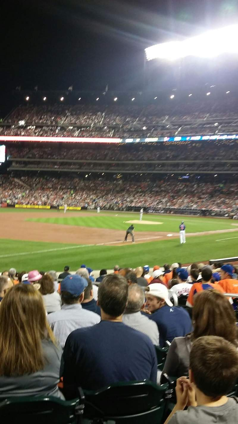 Seating view for Citi field Section 126 Row 13 Seat 5