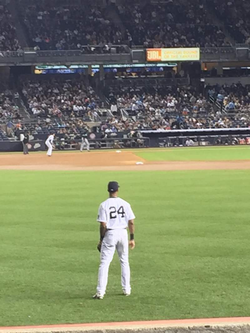 Seating view for Yankee stadium Section 135 Row 12 Seat 20