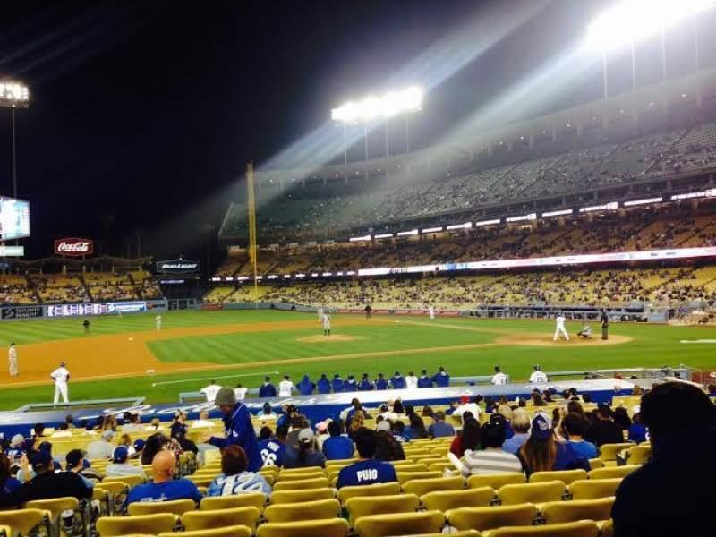 Seating view for Dodger Stadium Section 22FD Row N Seat 3