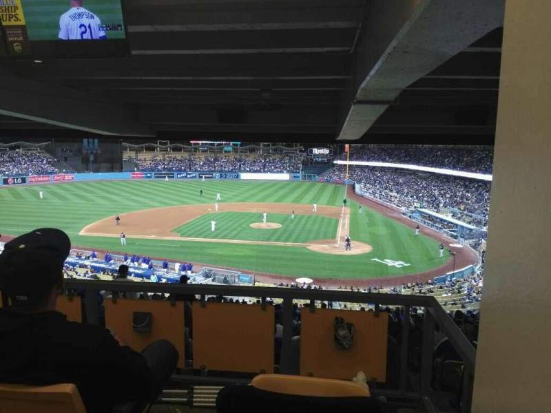 Seating view for Dodger Stadium Section 119LG