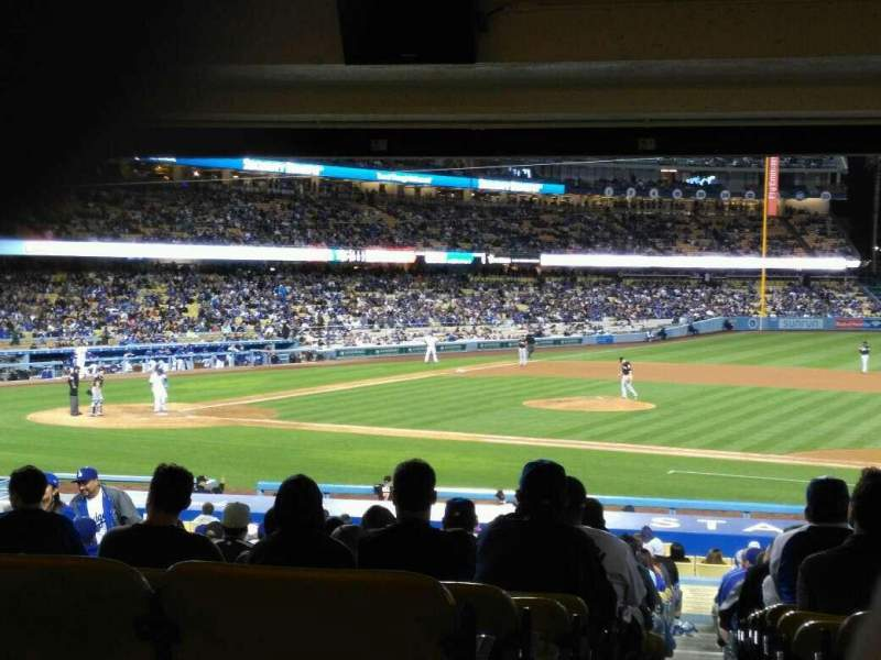 Seating view for Dodger Stadium Section 20FD Row X