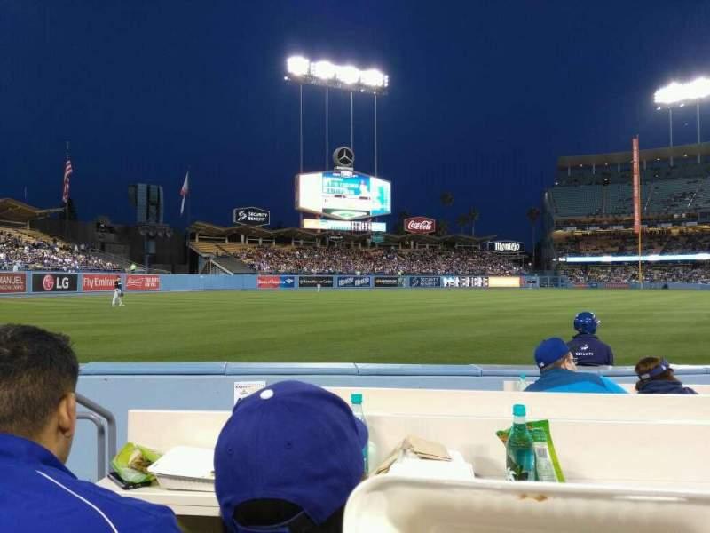 Dodger Stadium, section: 43BL, row: 6