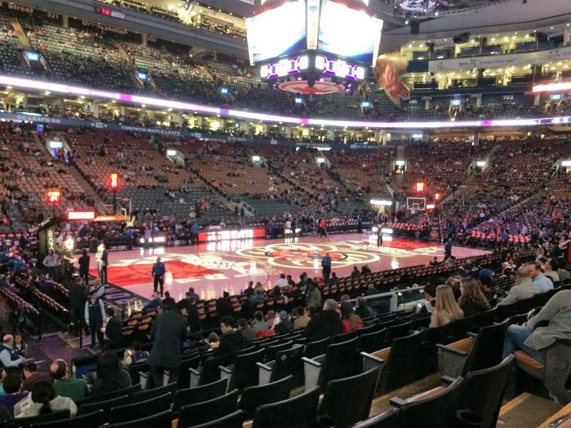Air Canada Centre Section 110 Row 14 Seat 6 Toronto
