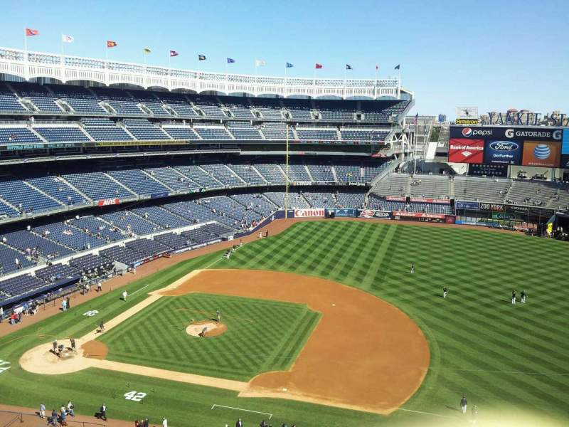 Seating view for Yankee Stadium Section 314