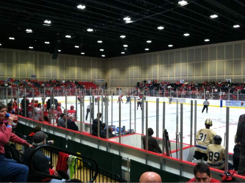 Seating view for Akins Ford Arena at The Classic Center Section 103 Row E Seat 12