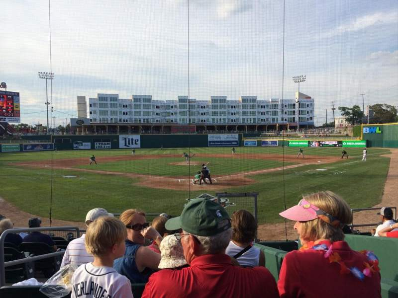Seating view for Cooley Law School Stadium Section H Row 13 Seat 11