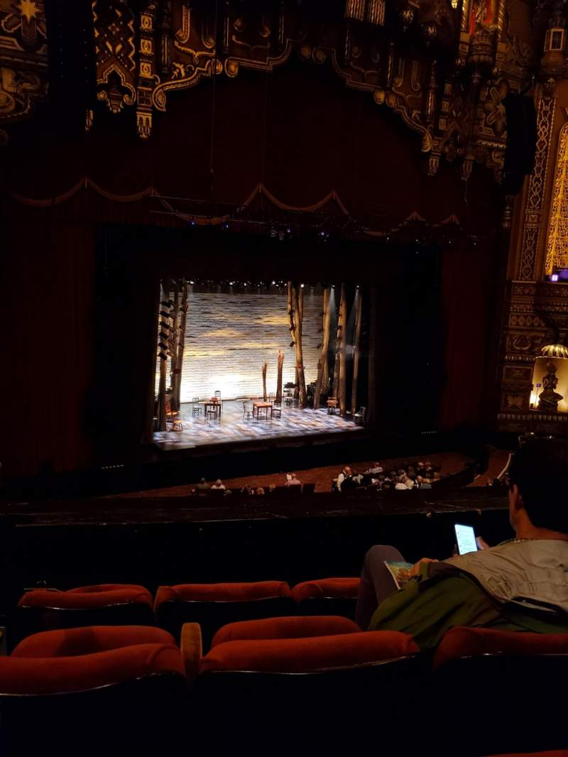 Seating view for The Fabulous Fox Theatre (St. Louis) Section Mezzanine 3 Row DD Seat 27