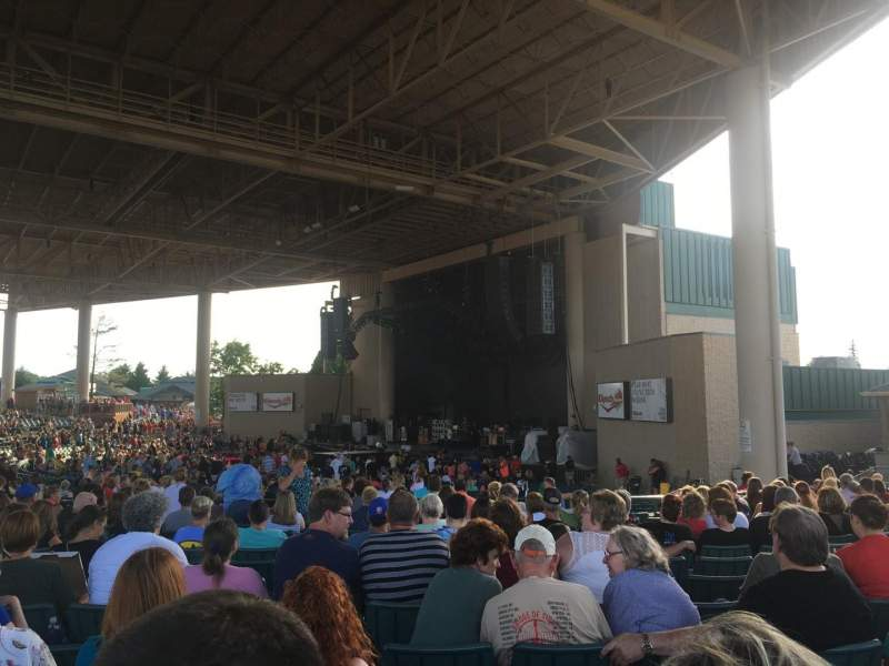 Seating view for Ruoff Home Mortgage Music Center Section H Row R Seat 33