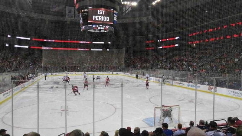 Seating view for Prudential Center Section 1e Row 9 Seat 8