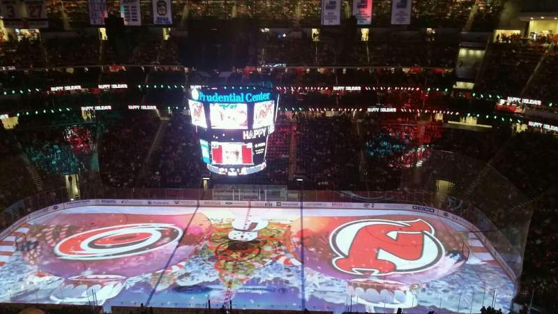 Seating view for Prudential Center Section 213 Row 3 Seat 19