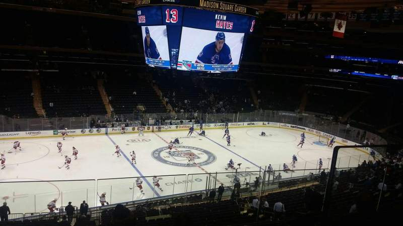 Seating view for Madison Square Garden Section 222 Row 5 Seat aisle