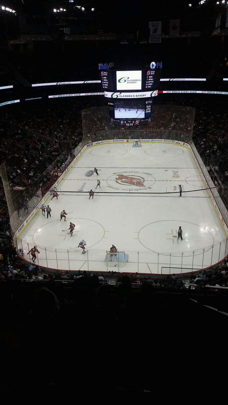 Seating view for Prudential Center Section 120 Row 9 Seat 7