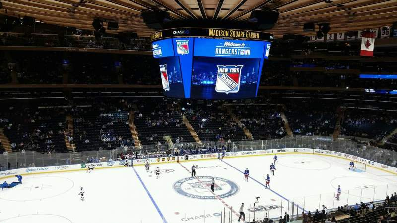 Seating view for Madison Square Garden Section 223 Row 4 Seat 3