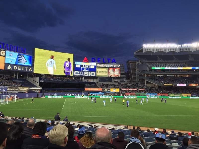 Yankee Stadium, section: 128, row: 6, seat: 7
