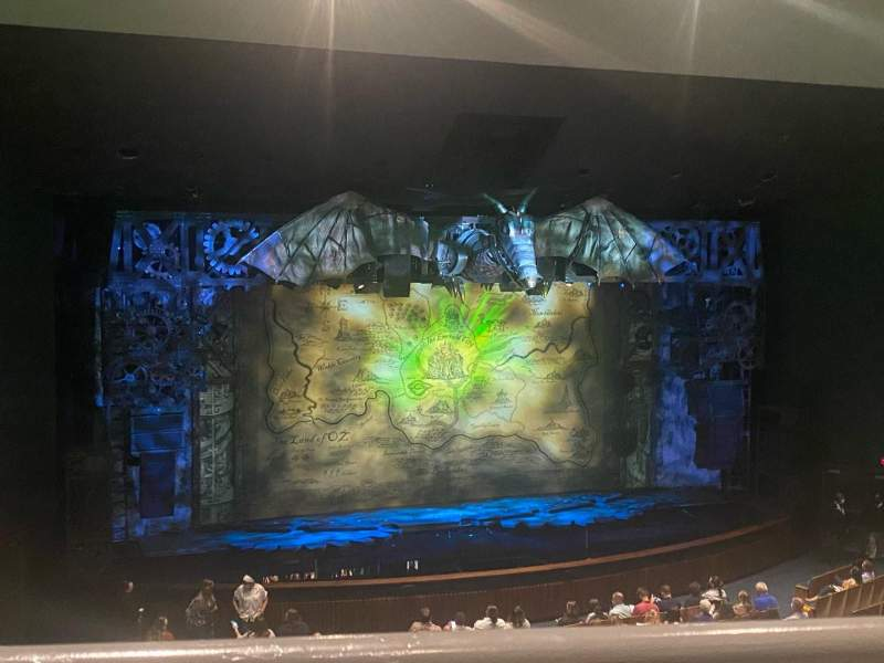 Seating view for Ovens Auditorium Section Grand Tier Center Right Row AA Seat 111