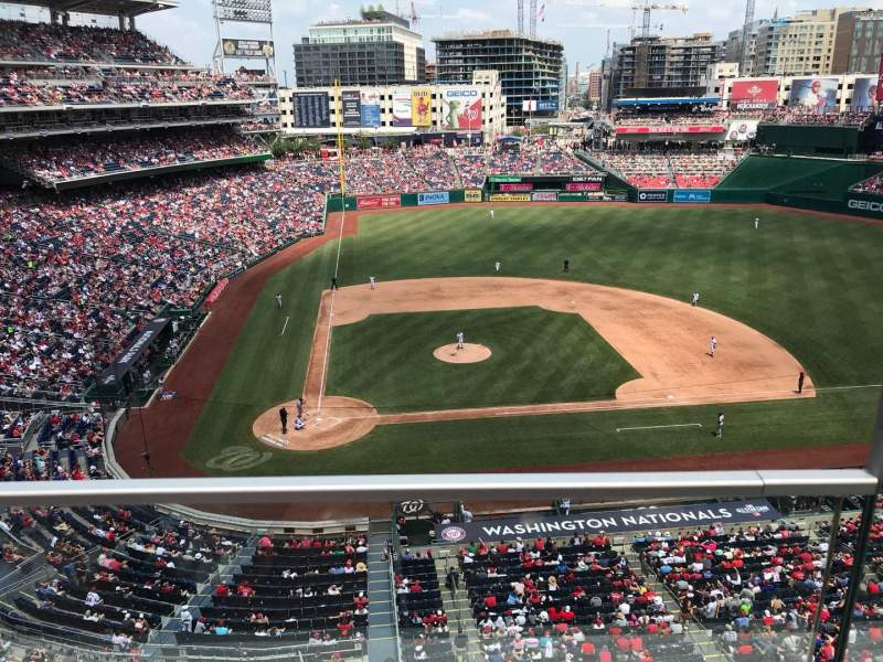 Nationals Park, section: 317, row: A, seat: 1