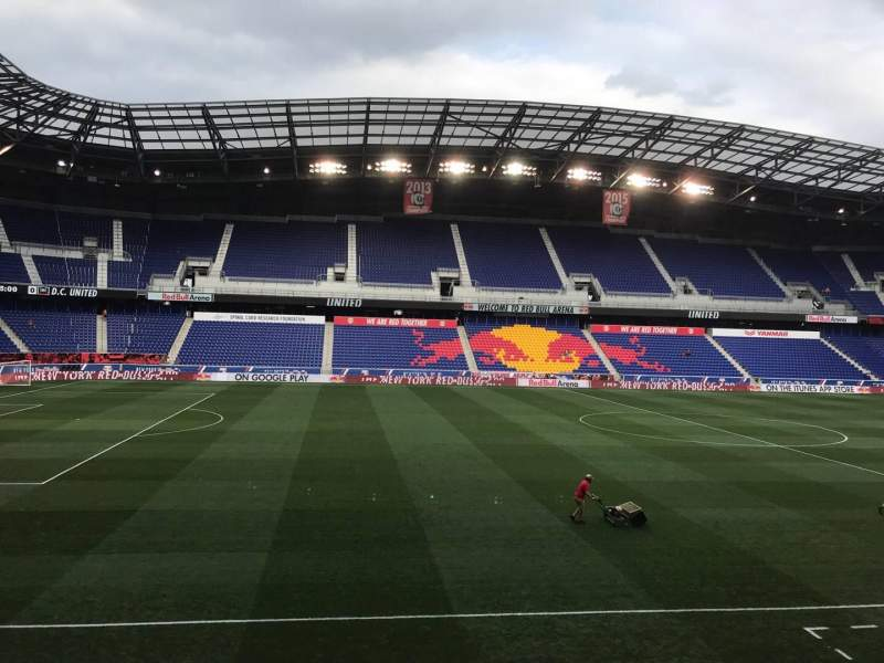 Seating view for Red Bull Arena (New Jersey) Section 111 Row 12 Seat 17