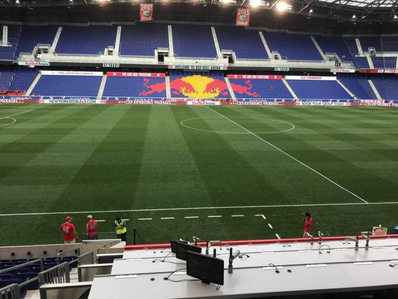 Seating view for Red Bull Arena (New Jersey) Section 110 Row 14 Seat 24