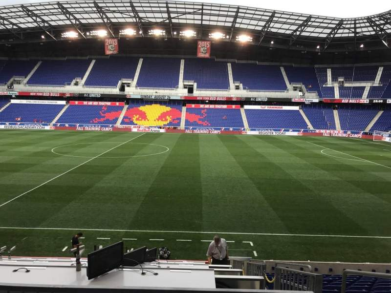 Seating view for Red Bull Arena (New Jersey) Section 109 Row 14 Seat 3