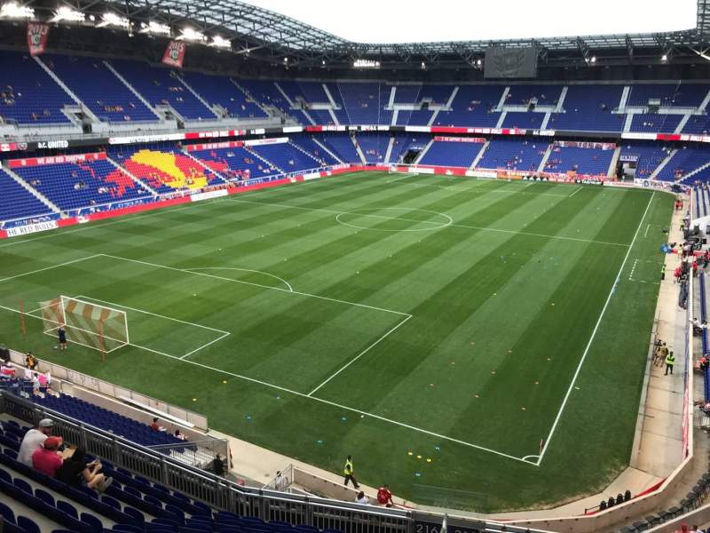 Seating view for Red Bull Arena (New Jersey) Section 216 Row 11 Seat 3