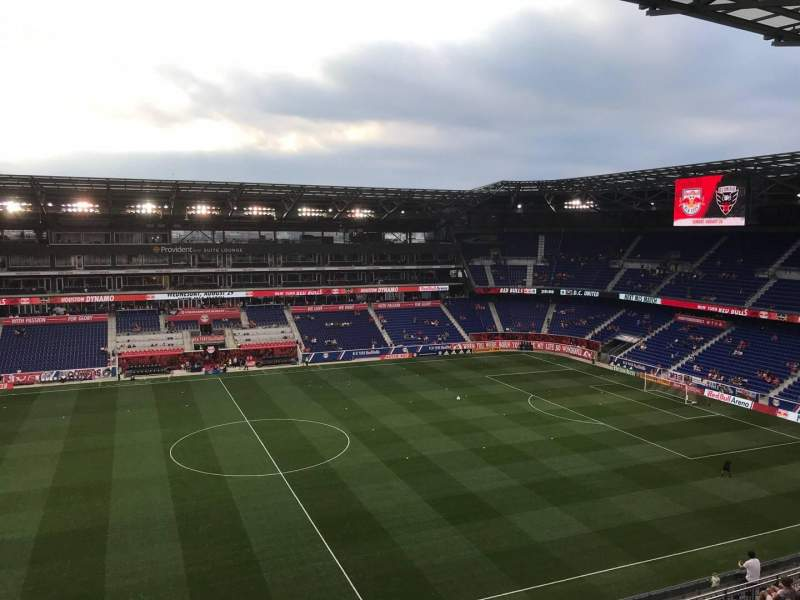 Seating view for Red Bull Arena (New Jersey) Section 227 Row 18 Seat 9