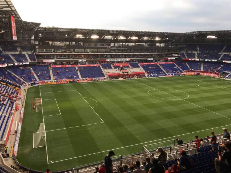 Seating view for Red Bull Arena (New Jersey) Section 229 Row 20 Seat 21