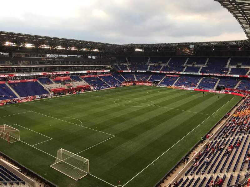 Seating view for Red Bull Arena (New Jersey) Section 231 Row 14 Seat 17
