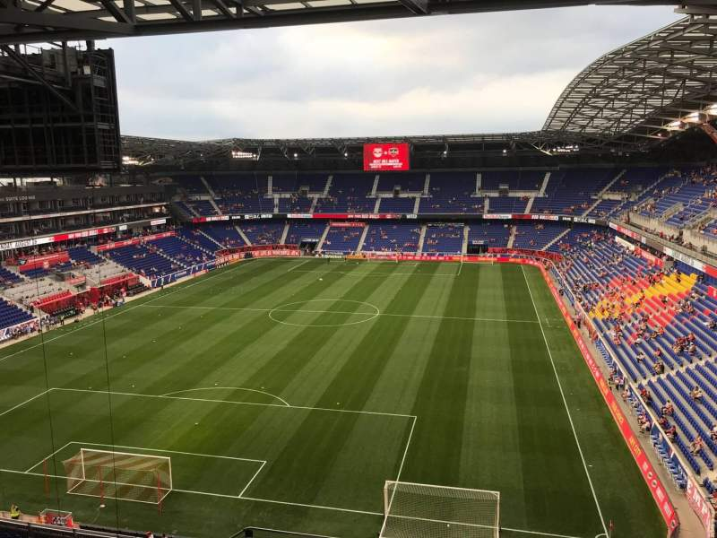 Seating view for Red Bull Arena (New Jersey) Section 232 Row 20 Seat 34