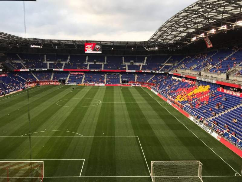 Seating view for Red Bull Arena (New Jersey) Section 233 Row 10 Seat 23