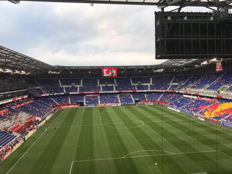 Seating view for Red Bull Arena (New Jersey) Section 202 Row 15 Seat 18