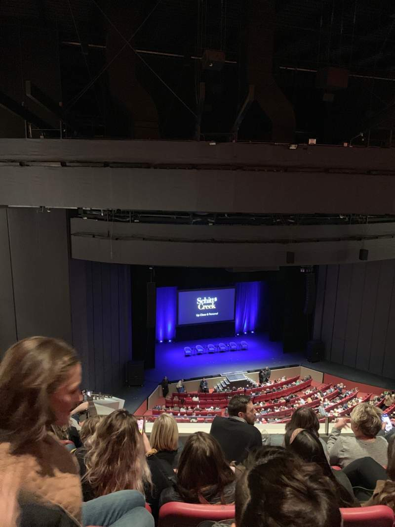 Seating view for Andrew Jackson Hall Section Balcony Row W Seat 55