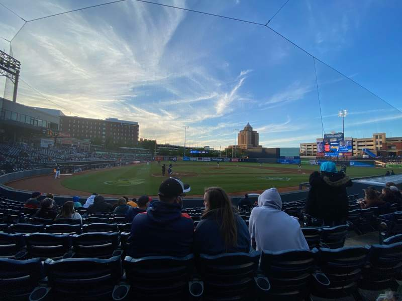 Seating view for Canal Park Section 11 Row J Seat 8