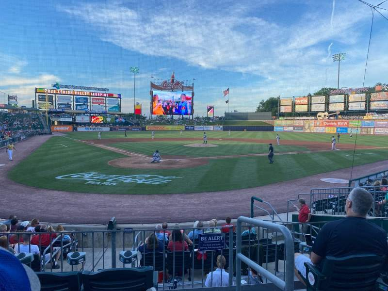Seating view for Coca-Cola Park Section 111 Row M Seat 10