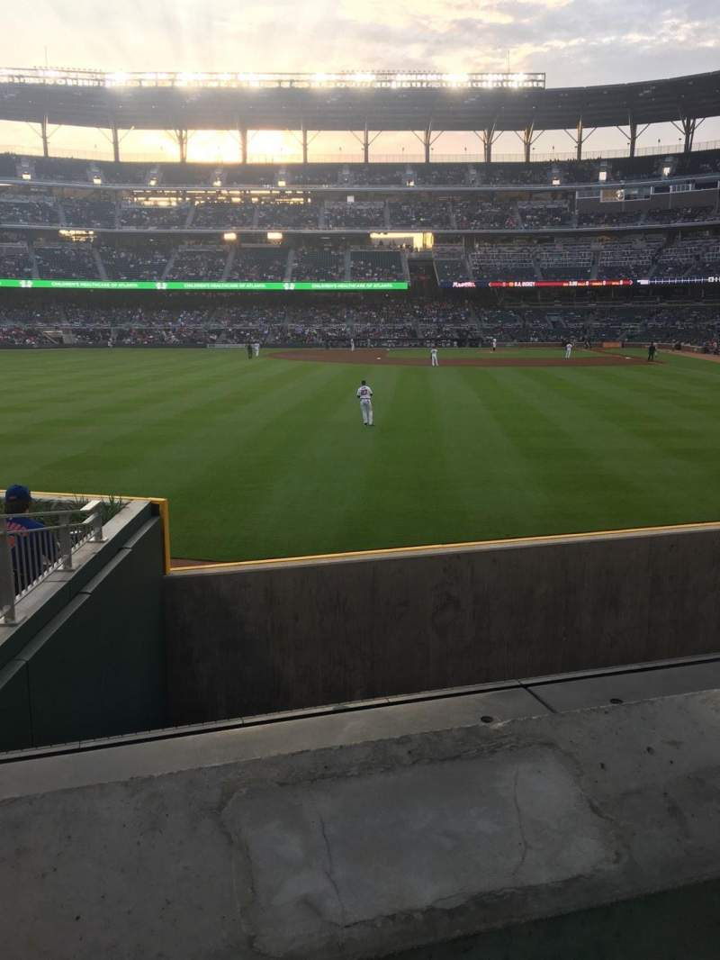 Seating view for SunTrust Park Section 146 Row 9 Seat 2