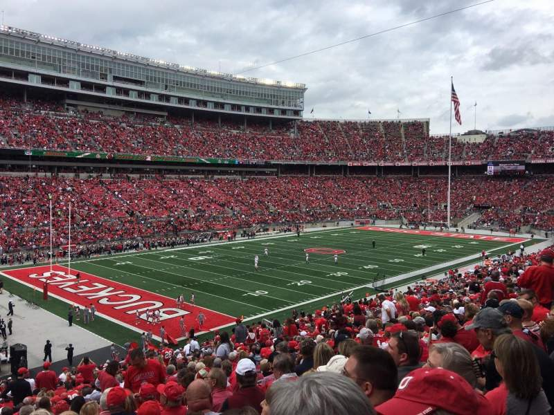 Seating view for Ohio Stadium Section 30A Row 30 Seat 22