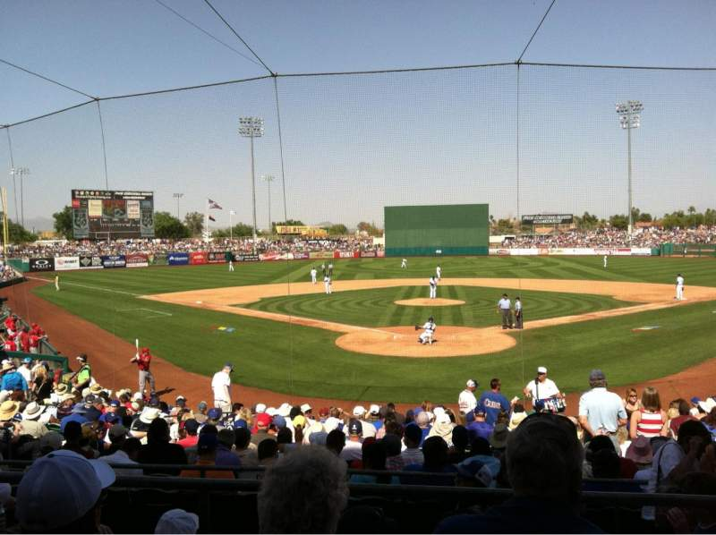 Seating view for HoHoKam Stadium Section 200 Row CC Seat 4
