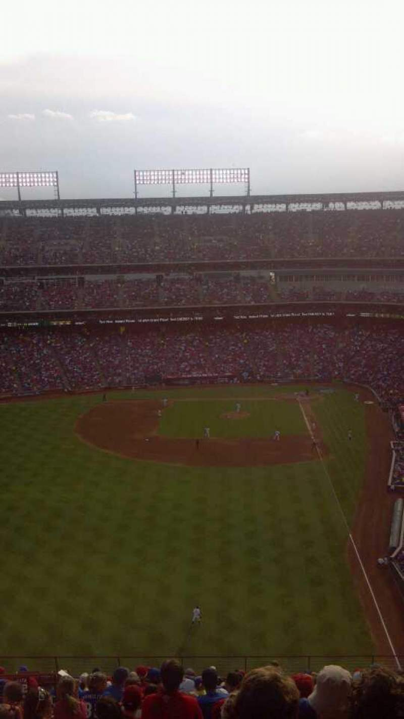 Seating view for Globe Life Park in Arlington Section 305 Row 21 Seat 7