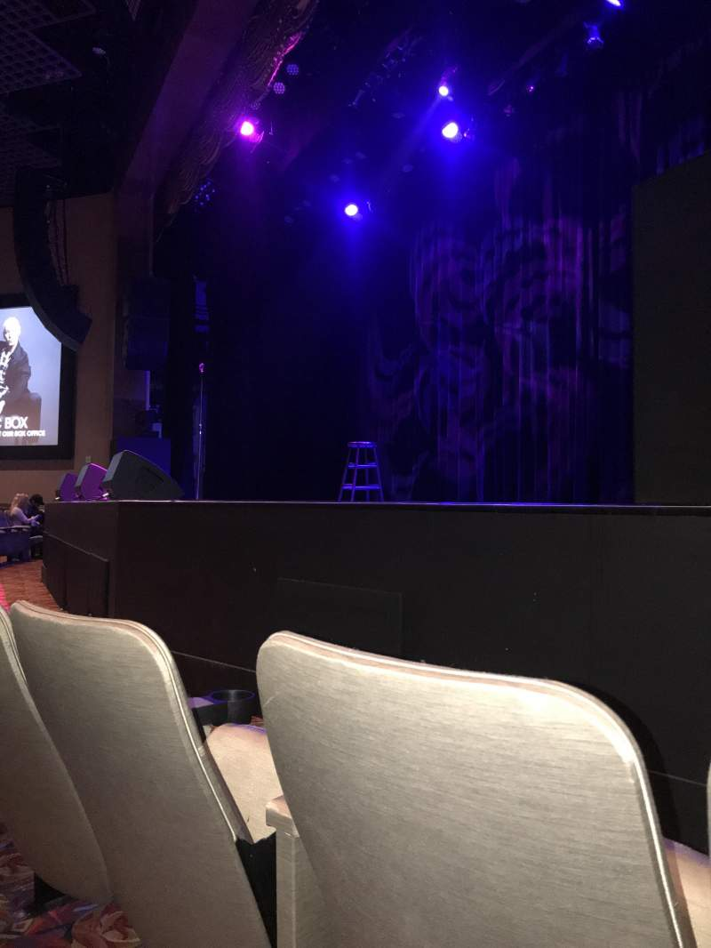 Seating view for Borgata Music Box Section 300 Row B Seat 308
