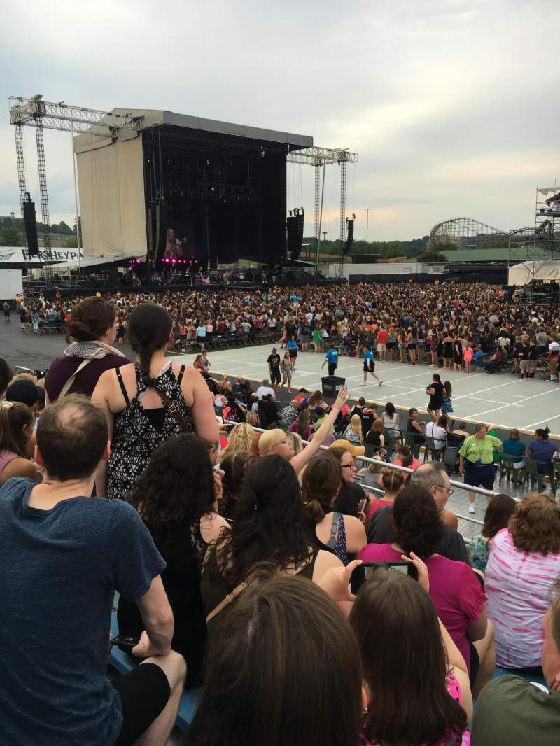 Seating view for Hershey Park Stadium Section 7 Row A Seat 8