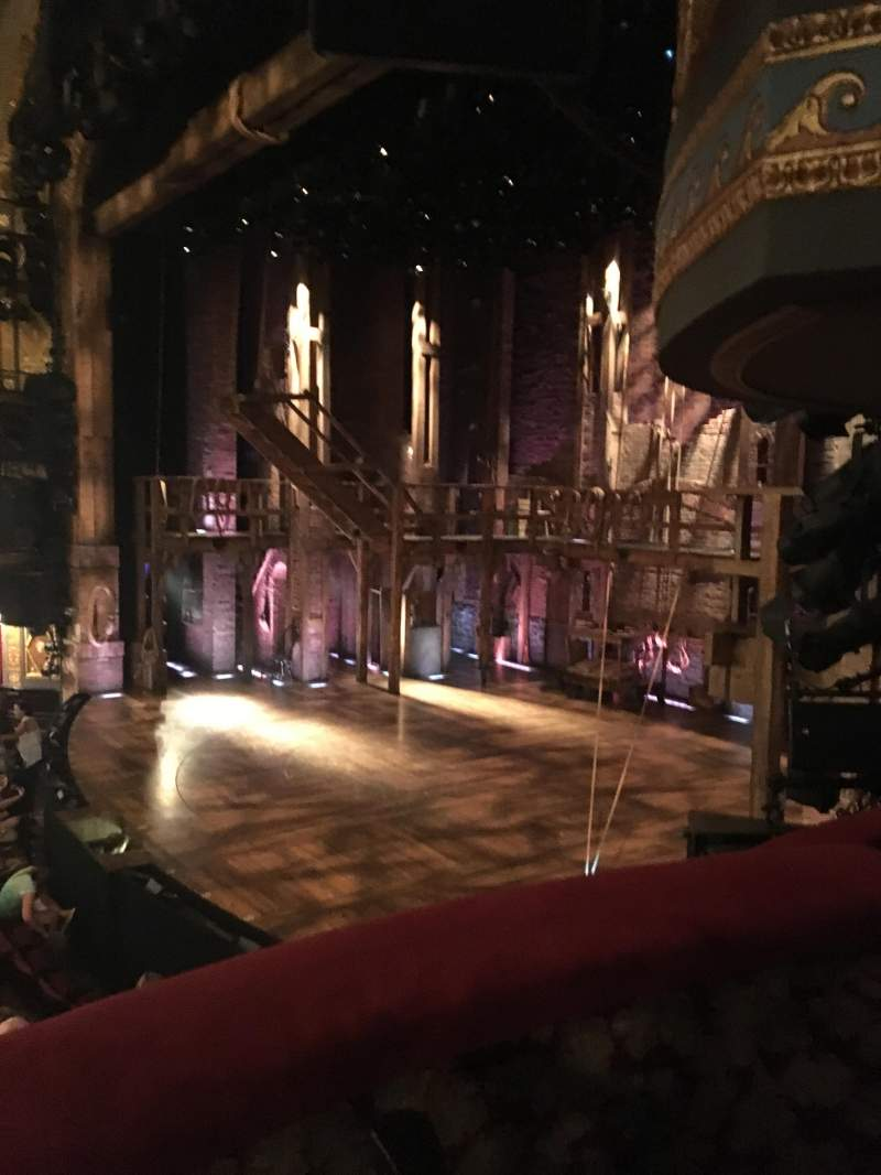 Seating view for Richard Rodgers Theatre Section Box Row E Seat 2