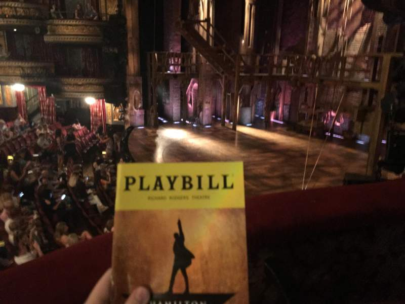 Seating view for Richard Rodgers Theatre Section Box E Row 1 Seat 2