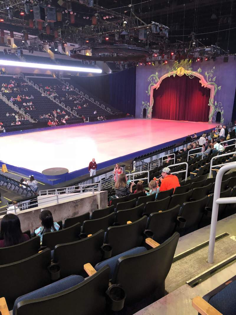Seating view for Infinite Energy Arena Section 102 Row Q Seat 14